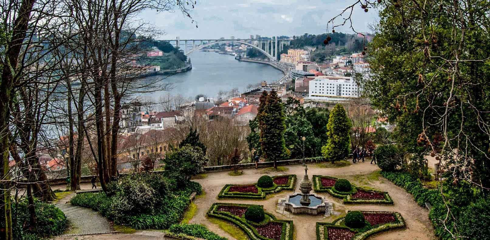 Jardins Palácio de Cristal