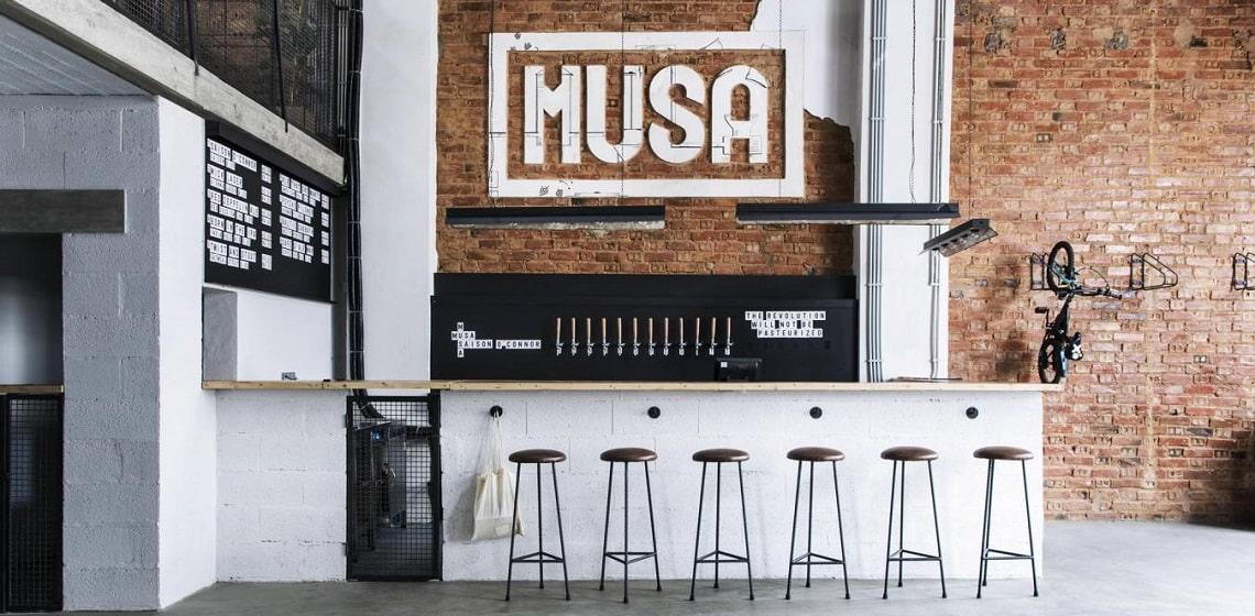 Fábrica Musa - Taproom Marvila