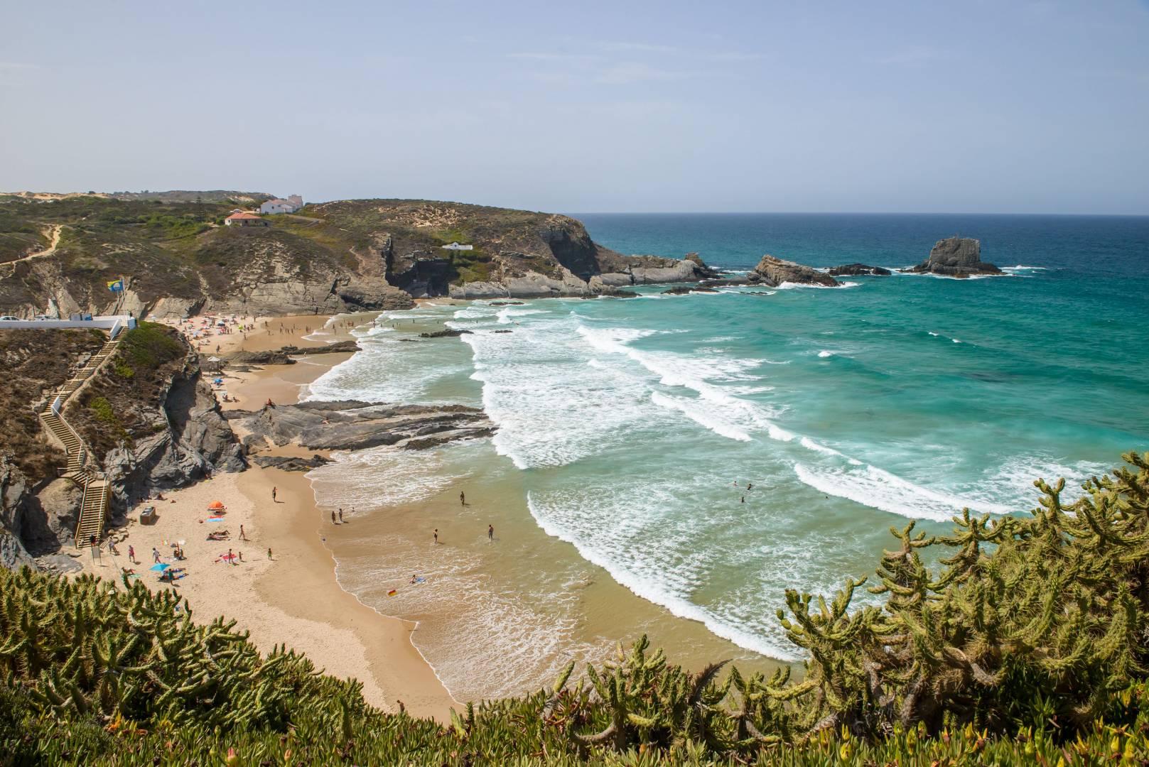 Praia da Zambujeira do Mar - Odemira | All About Portugal